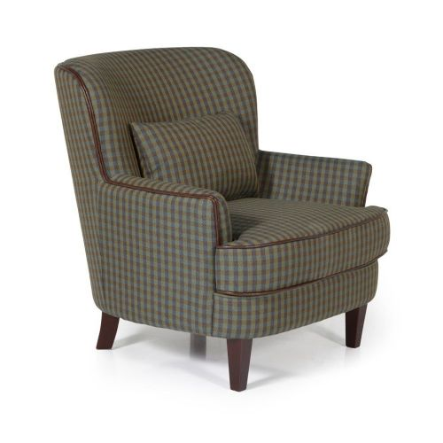 Ocassional Moffat Green Occasional Chair